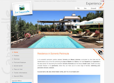 Hotel Residence Le Capannelle | Vai al sito