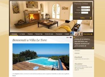 Villa Le Tore | Vai al sito