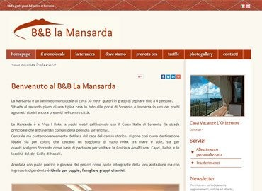 B&B La Mansarda   Vai al sito