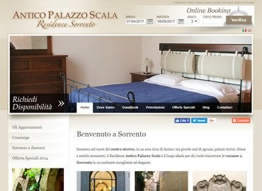 Antico Palazzo Scala   Vai al sito