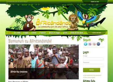 Africandando | Vai al sito