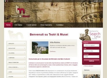 Teatri e Musei by Ovest | Vai al sito