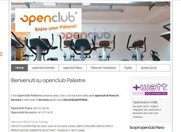 Open Club Palestre | Vai al sito