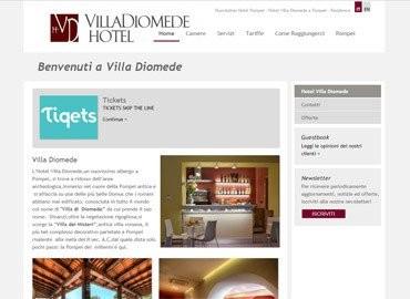 Villa Diomede Hotel | Vai al sito